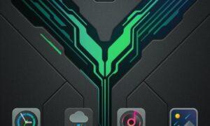 Xiaomi Black Shark 2 Home screen