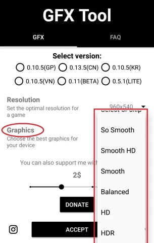 PUBG GFX Tool: Change Low To High graphics on any android phone HDR