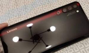 LenovoZ6 Pro with 4 rear cameras