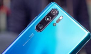 Huawei P30 Pro uses pure Sony sensors