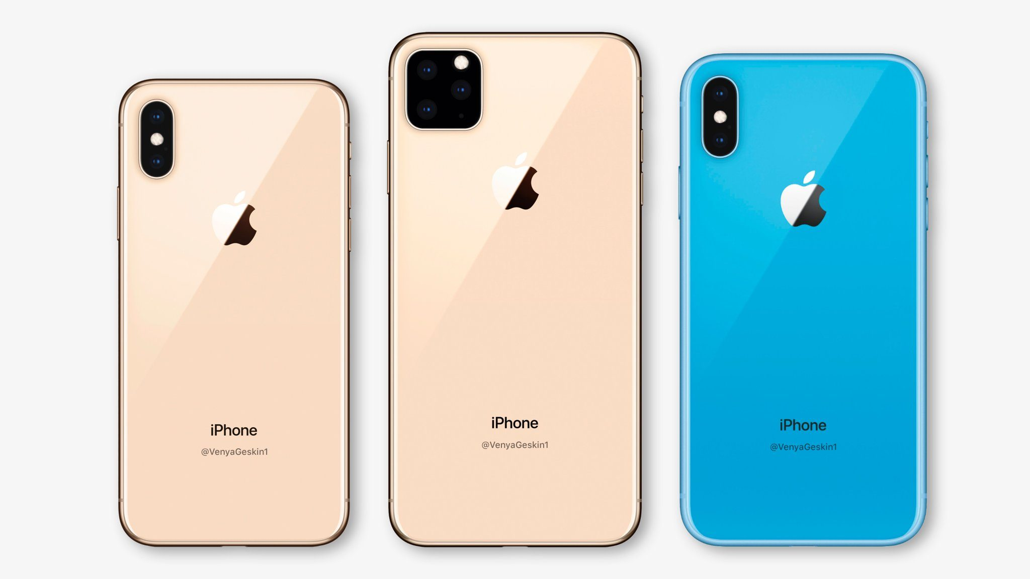New iPhone Models