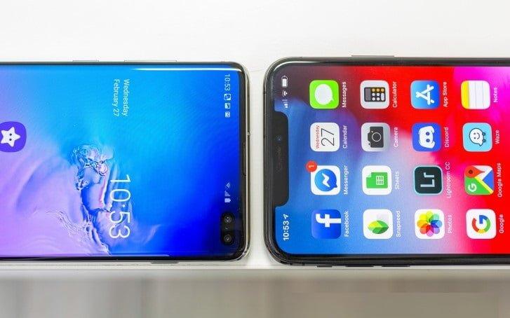 Samsung complete borderless screen design