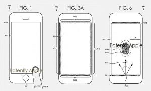 iPhone Screen Use Finger Scan Sensors