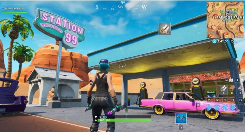 Fortnite Gas station