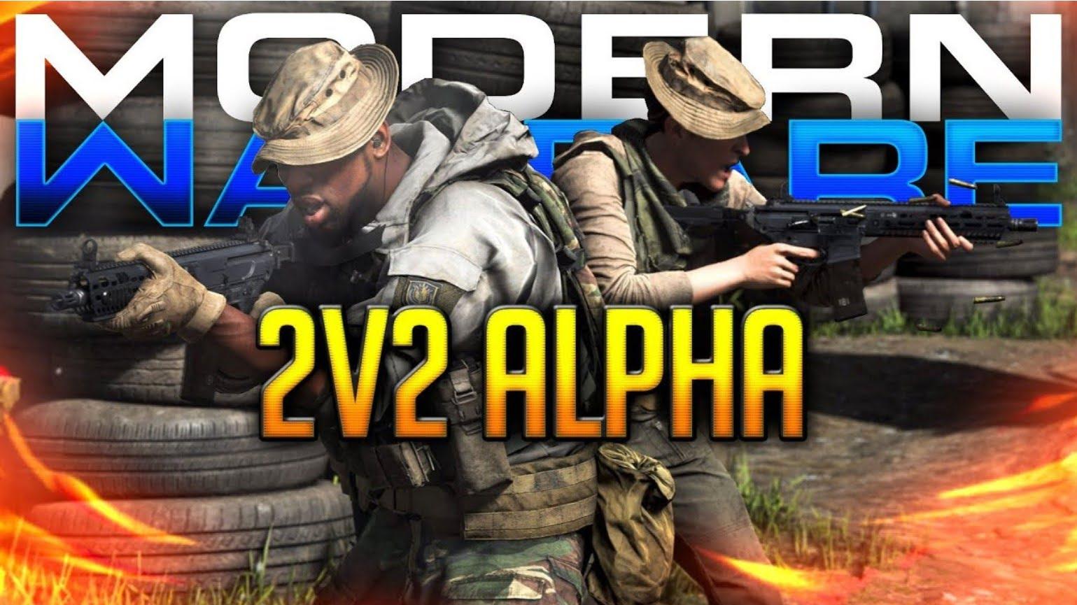 call of duty modern warfare alpha