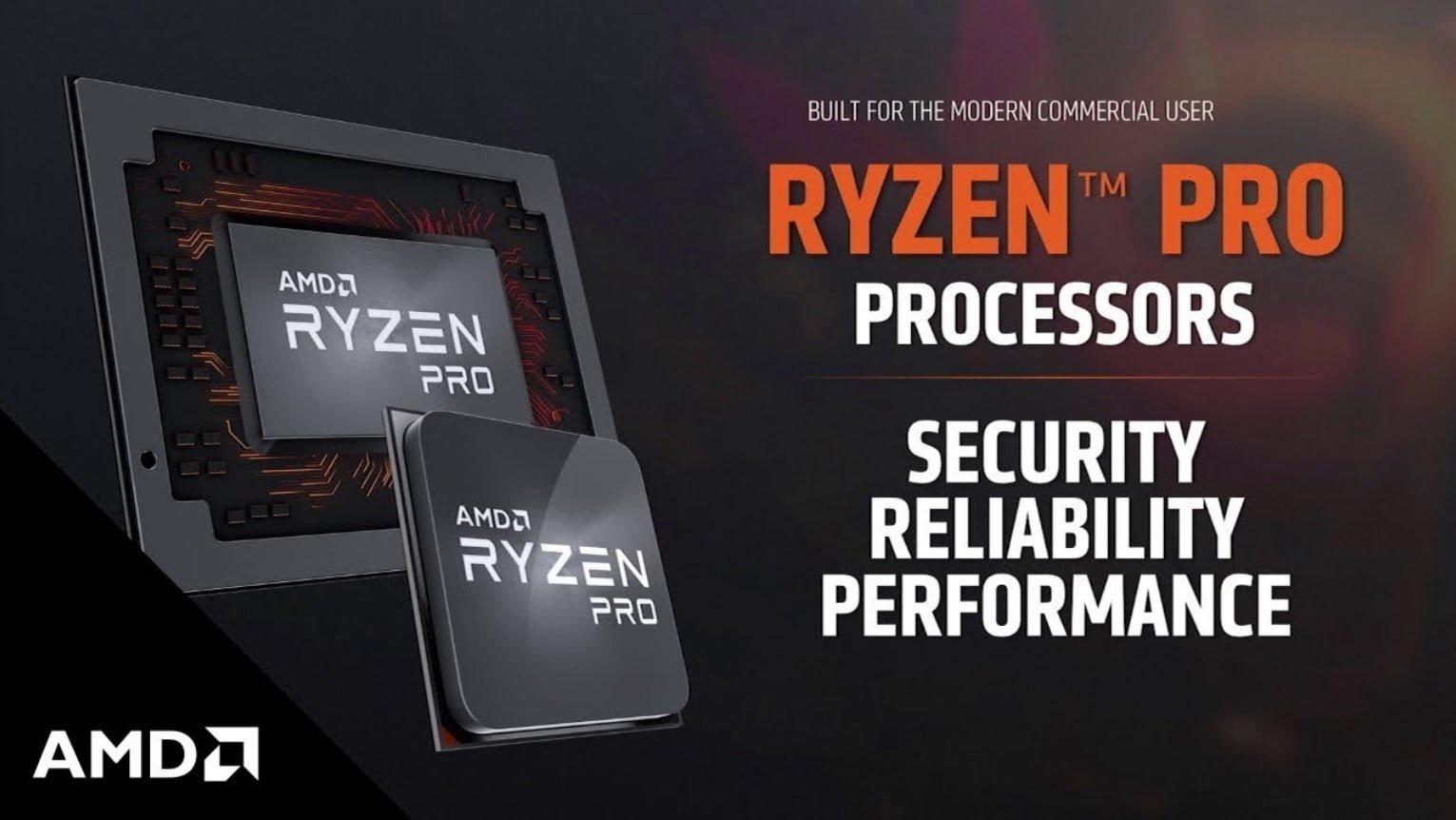 Ryzen Pro 3000 Series AMD