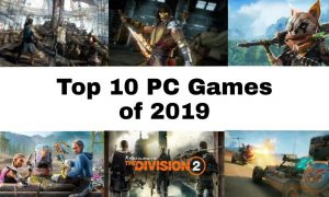 Best PC Games of 2019