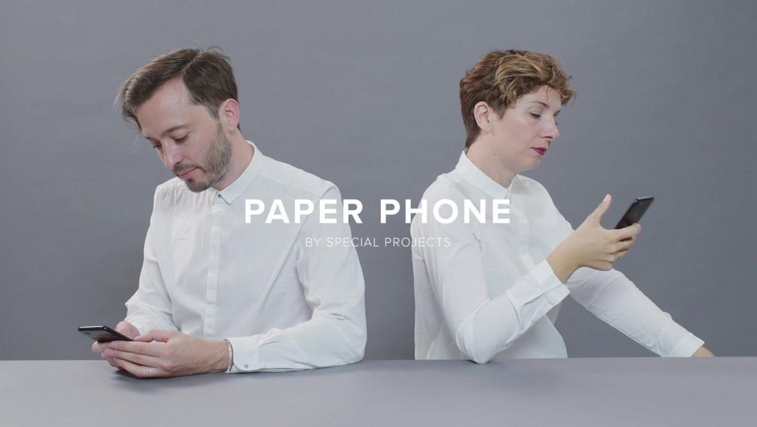 Google Paper Phone