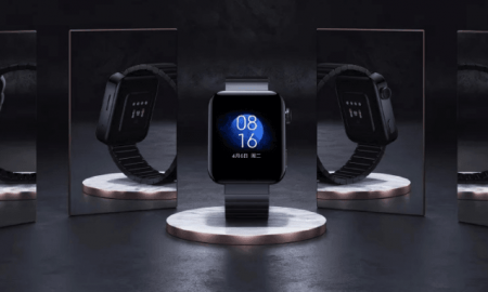 Xiaomi introduced the smartwatch Mi Watch