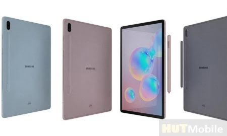 The Unannounced Galaxy Tab S6 5G Tablet Appeared On The Samsung Website And Immediately With The Action