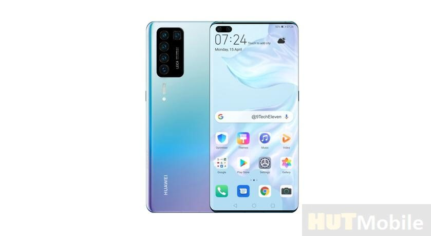 Huawei P40 Pro Mobile Concept Image Leak