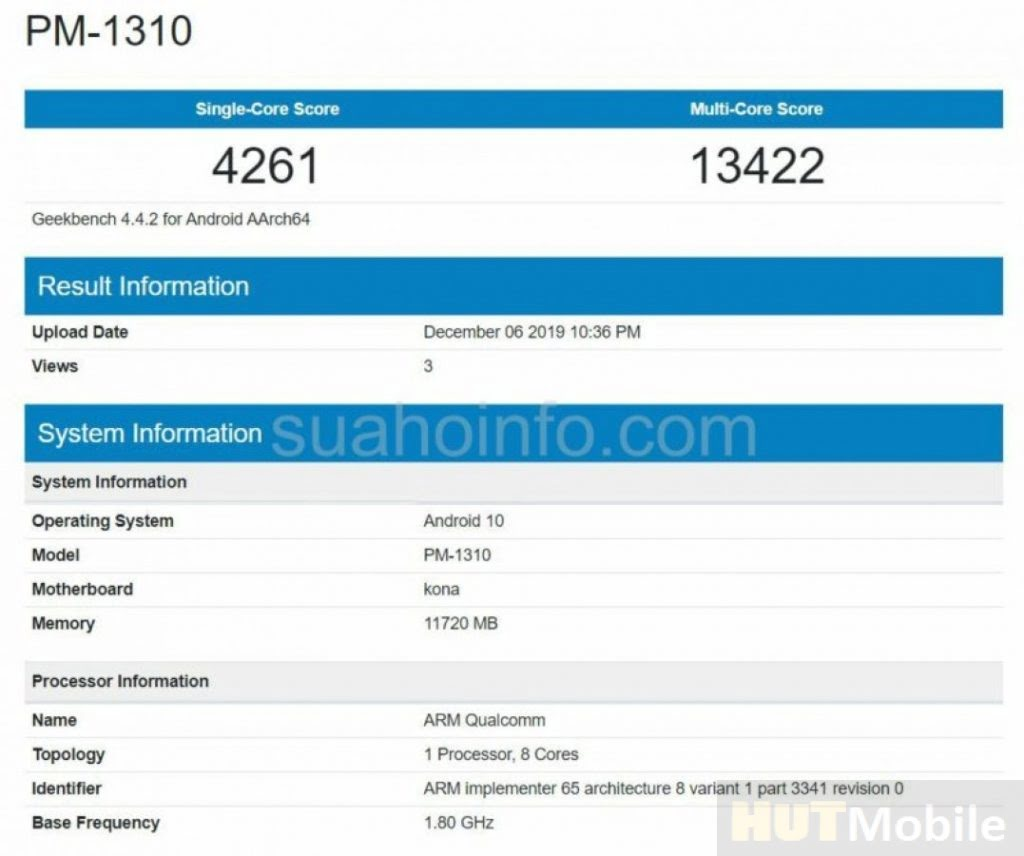 New Flagship Sony Xperia 3 Appeared In Geekbench Snapdragon Chip 865 And 12GB RAM