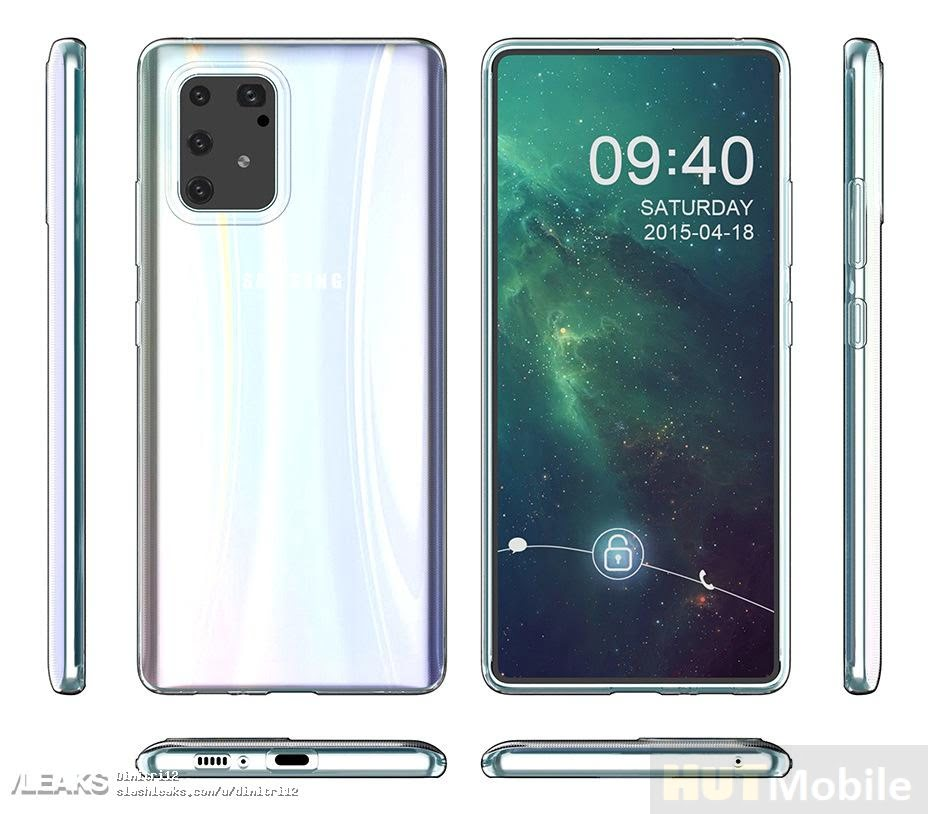 Features And New Rendering Of Samsung Galaxy S10 Lite