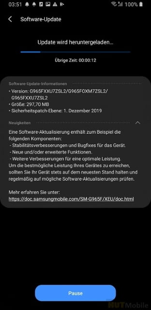 Second Beta Version Of One UI 2.0 Samsung Galaxy S9 And Galaxy S9 Plus With Android 10