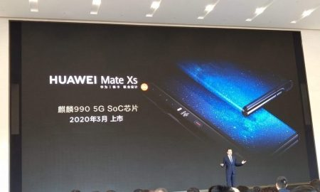 Huawei Mate Xs 5G With Reinforced Foldable Screen