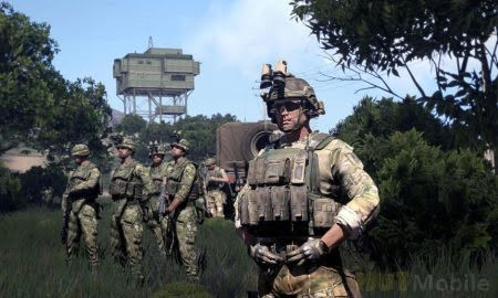 Arma 3 military simulator is available for free play and purchase at a huge discount