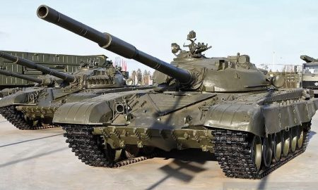 The military performed a circus trick on a Soviet tank