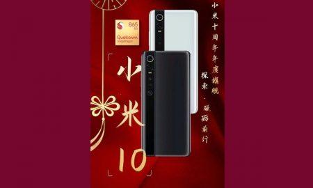 Xiaomi Mi 10: design and release date