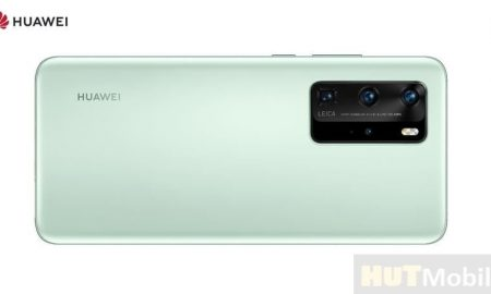 Huawei P40 Pro appeared on a press render in the colors of Mint Green