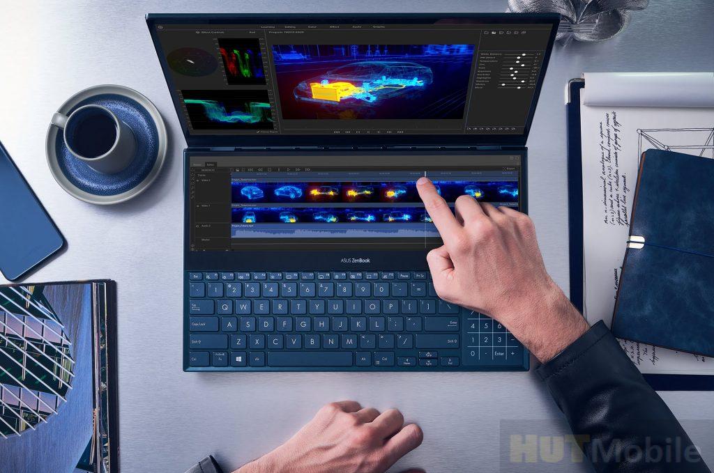 Zenbook Pro Duo review Double screen legend