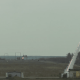Russian rocket hit shown in slow motion