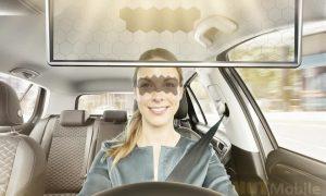 Bosch Virtual Visor AI Visor Sun Visor With Partial Transparency And Partial Dimming