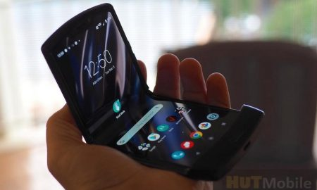 The Network Has A Photo Of The Commercial Version Of The Flexible Clamshell Motorola RAZR 2019