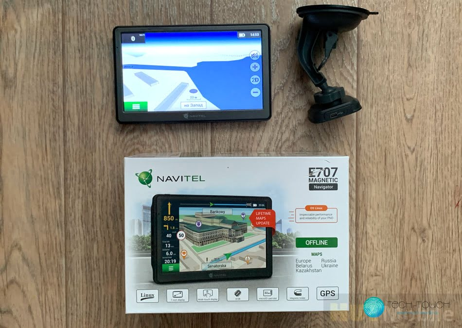 Navitel E707 Magnetic Personal Navigator Navigation Systems