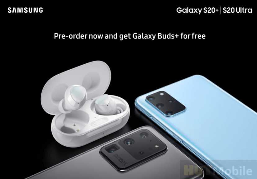 New Samsung Galaxy Buds plus Wireless Headphones Available For Free