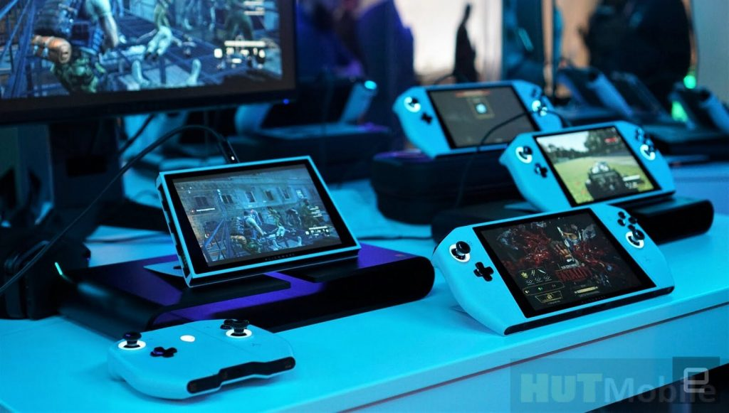 CES 2020 Dell Unveils Concept UFO Nintendo Switch Form Factor Portable Gaming PC