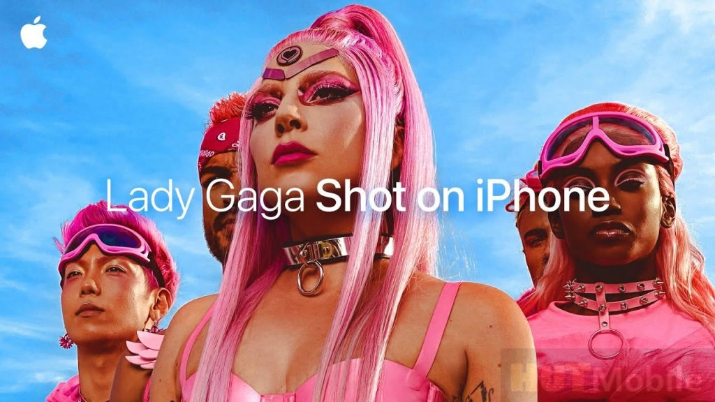 Lady Gaga Shot on iPhone 11 Pro Apple