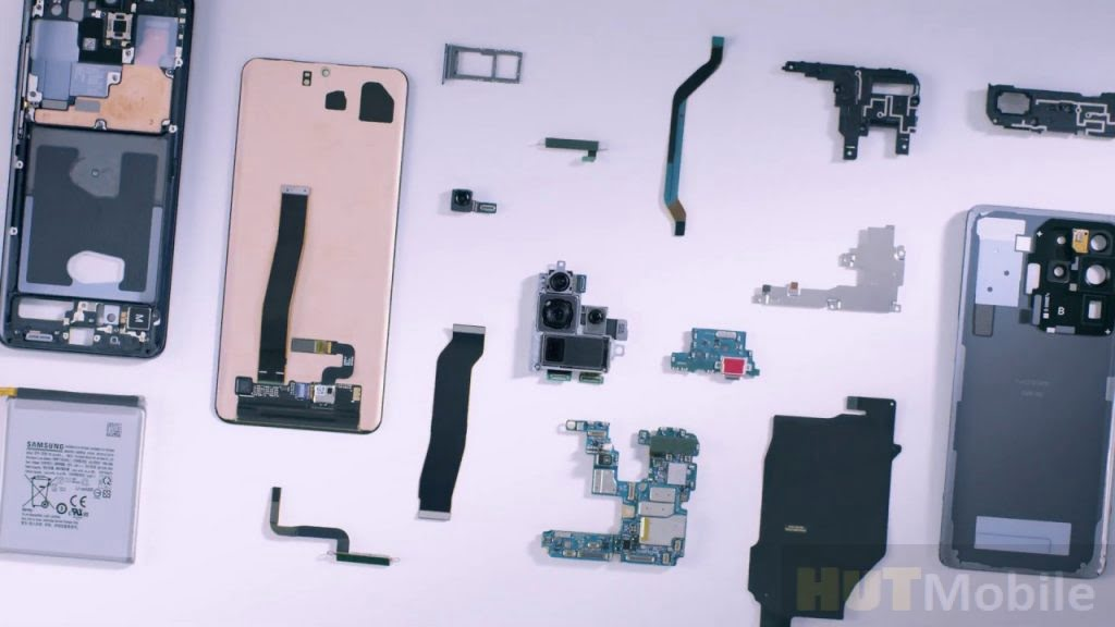 Galaxy S20 Ultra disassembled