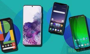 Top 10 best smartphones have been announced 2020