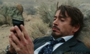 Robert Downey Jr with OnePlus 8 Pro