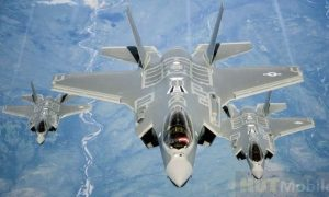American F-35s first intercepted Russian fighters