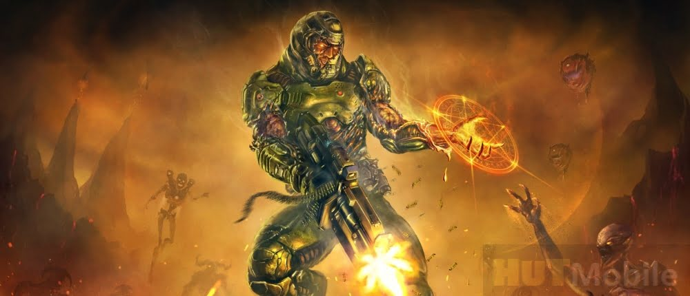 Modder worked for two years to combine Serious Sam and Doom Eternal in one game