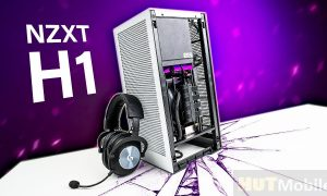 Which motherboards can the NZXT H1 hold?
