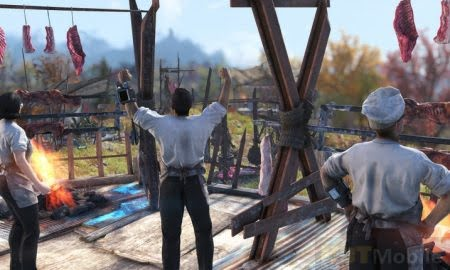 Fallout 76 players create a cannon firing meat Game Detail News