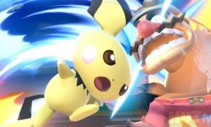 The inventor combined the controller and the stun gun to play Smash Bros because it's fun