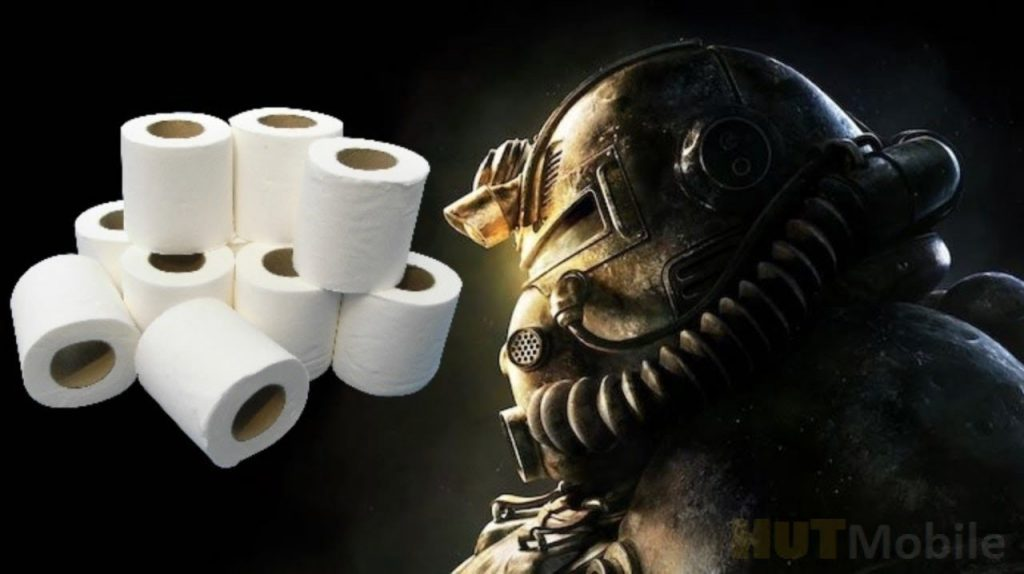 Fallout 76 players hype about toilet paper
