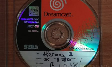 Enthusiasts published a lost version of Heroes of Might & Magic III for SEGA Dreamcast