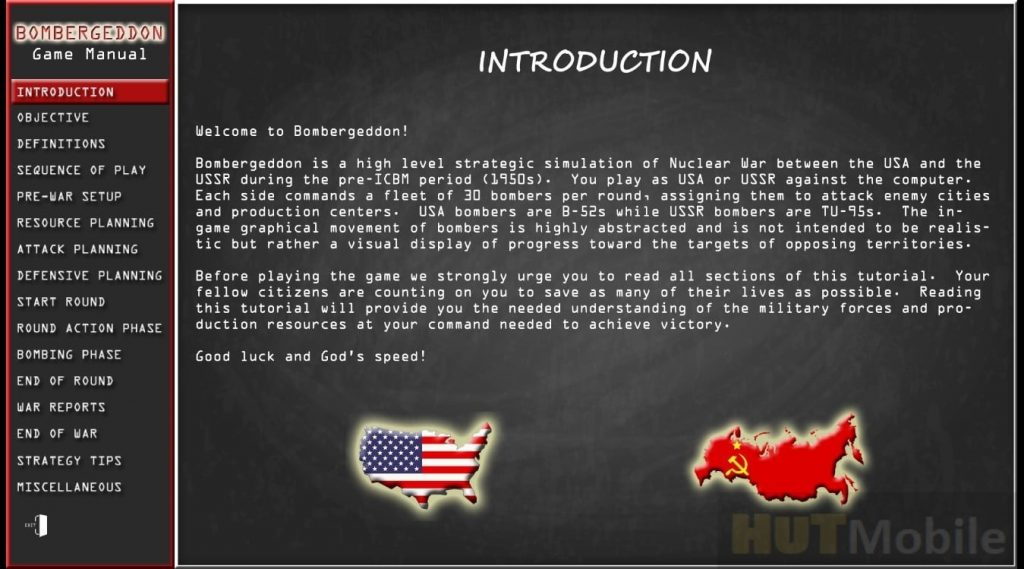 A nuclear simulator between the USSR and the USA was released on Steam. The game has 50 cities