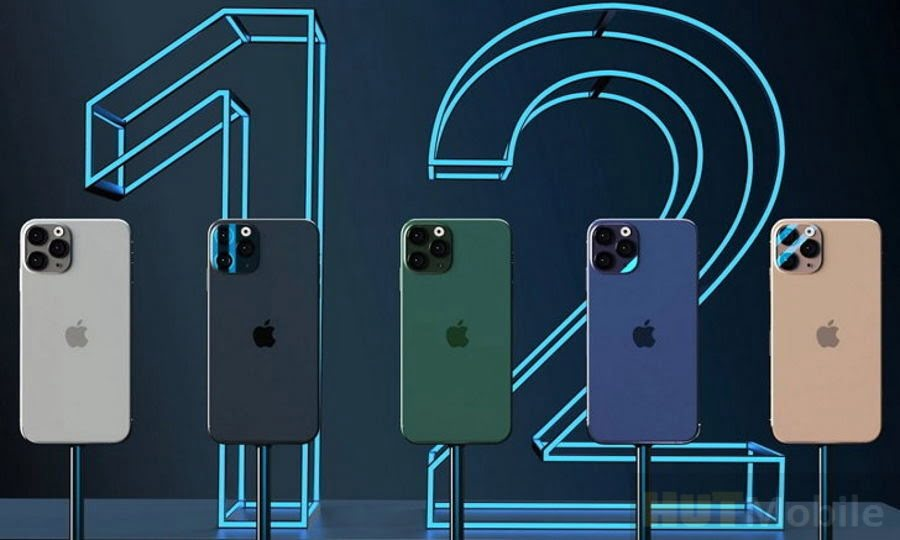 Apple Smartphone Redesign iPhone 12 Pro with iPad Pro Design