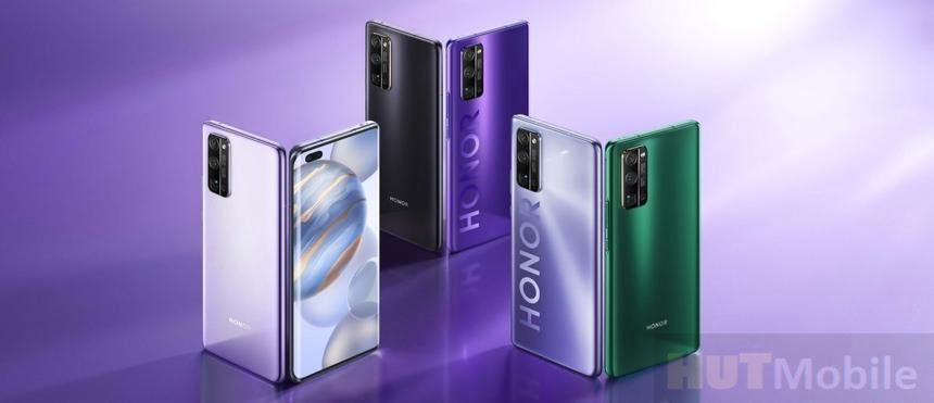 Huawei introduced the new smartphone flagship Honor 30 Honor 30 Pro and Honor 30 Pro plus