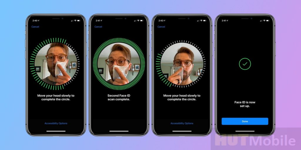 Face ID does not work with a medical mask: what to do