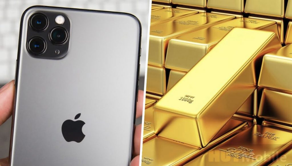 iPhone Gold How much gold is used for iPhone production