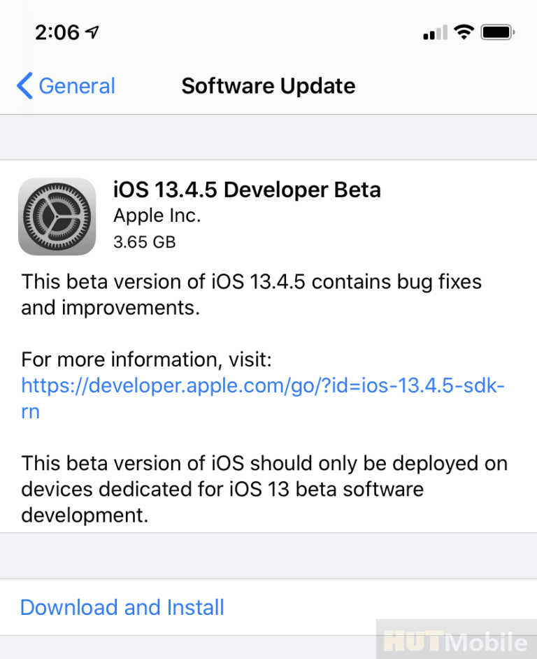 Apple iOS 13.4.5 Beta Leaked Features and codes