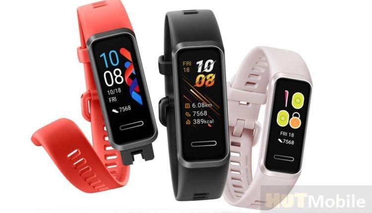 Huawei Band 4: Play sports and sleep healthy