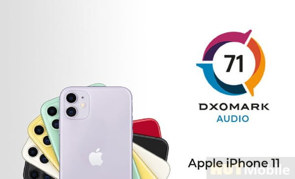 iPhone 11 audio score announced: total score of 71 points is the same as Pro Max score
