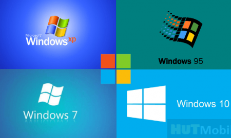 All versions of Windows in the history of Microsoft